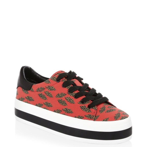 ALICE+OLIVIA Erza Cheetah Sneakers
